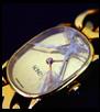ガラスが割れた時計